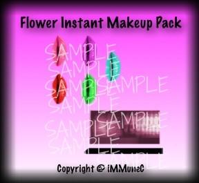 Flower Instant Makeup Pack