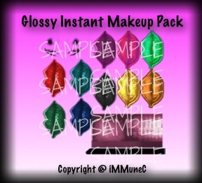 Glossy Instant Makeup Pack