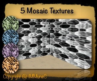 5 Mosaic Room Textures