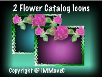 2 Flower Catalog Icons