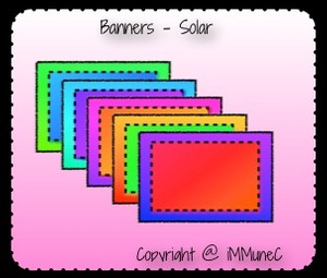 5 Solar Banners