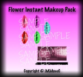 Flower Instant Makeup Pack With Resell Rights
