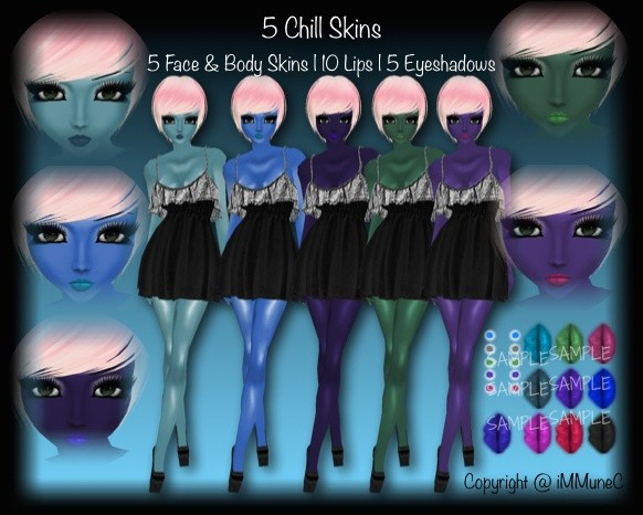 5 Chill Skin Textures With Resell Rights
