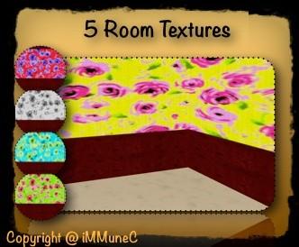 5 Room Textures (Set 8)
