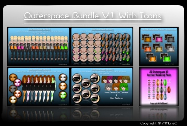 72 Outerspace Bundle (V1) + 16 Catalog Icons With Resell Rights