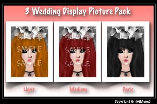 3 Wedding Display Pictures
