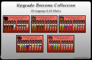 50 Upgrade Bottoms With Resell Rights