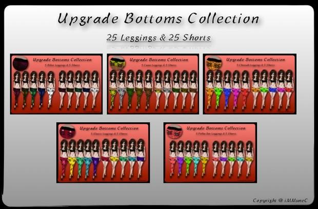 50 Upgrade Bottoms