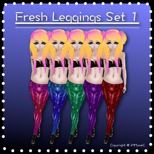 5 Fresh Leggings Set 1