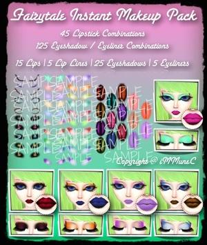 50 Piece Fairytale Instant Makeup Pack