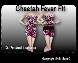 2 Cheetah Fever Textures With Resell Rights