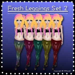 5 Fresh Leggings Set 2