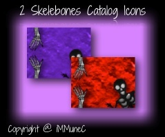 2 Skelebones Catalog Icons