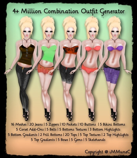 4+ Million Outfit Generator With Resell Rights (0/5 Sold)