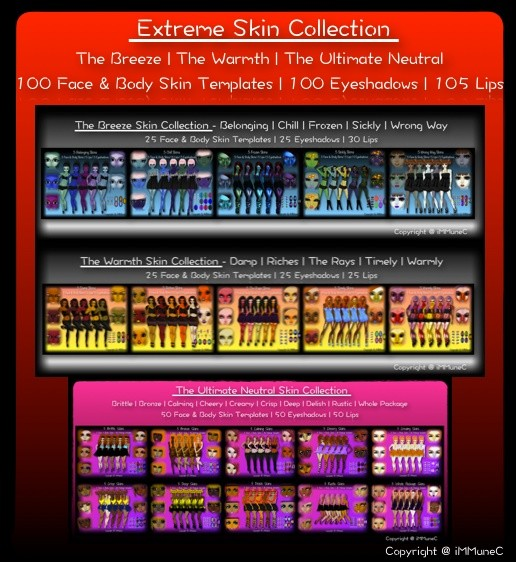 100 Extreme Skin Textures Collection With Resell Rights