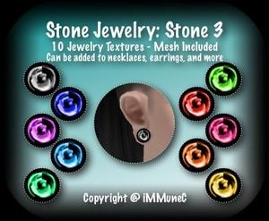 10 Stone 3 Jewelry Set