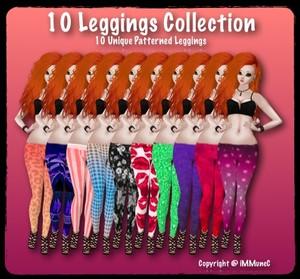10 Legging Product Textures