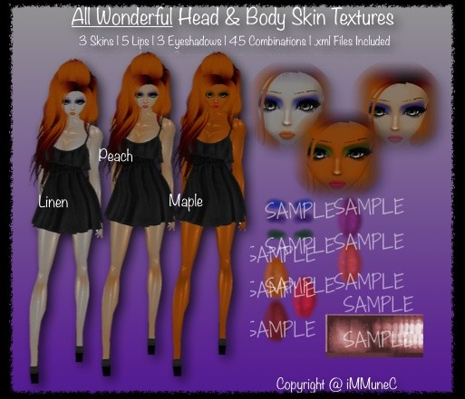 3 All Wonderful Skin Textures