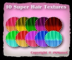 10 Super Hair Textures