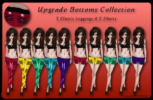 10 Elastic Upgrade Bottoms With Resell Rights