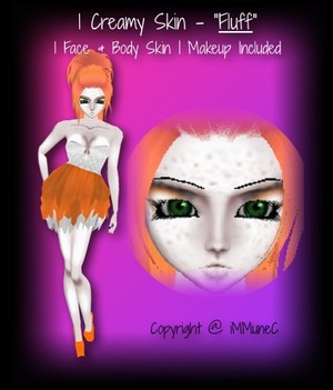 1 Creamy Fluff Skin Texture