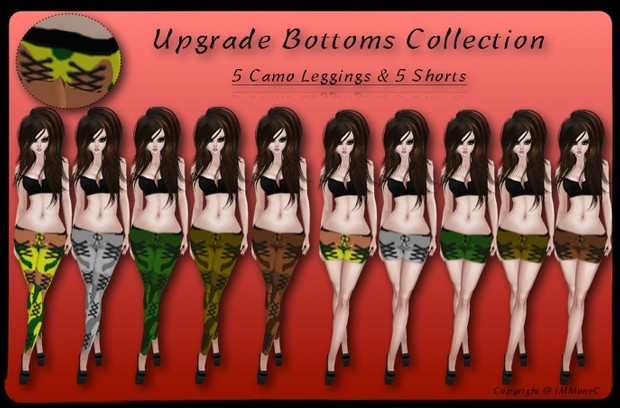 10 Camo Upgrade Bottoms With Resell Rights