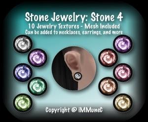 10 Stone 4 Jewelry Set