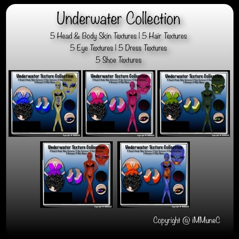 25 Underwater Product Textures With Resell Rights
