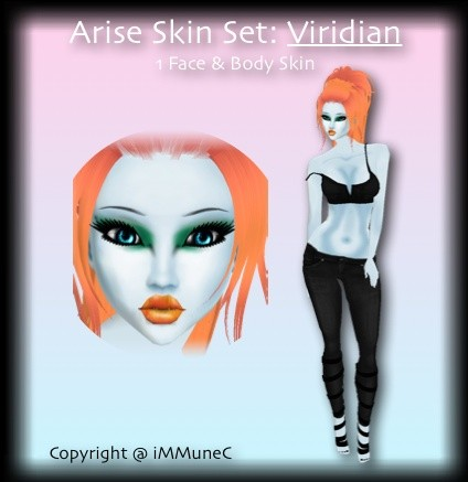 1 Viridian Arise Skin Texture