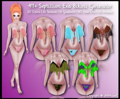411+ Septillion Exa Bikini Generator With Resell Rights