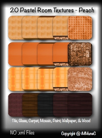 20 Peach Pastel Room Textures