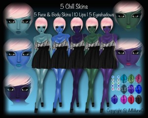 5 Chill Skin Textures