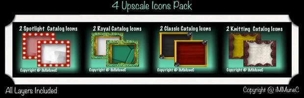 8 Upscale Catalog Icons