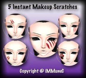 5 Scratches Instant Makeup