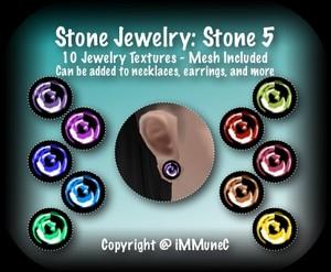 10 Stone 5 Jewelry Set
