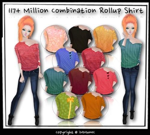 117+ Million Rollup Shirt Generator