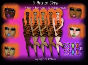 5 Bronze Skin Textures