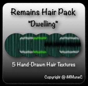 5 Dwelling Remains Hair Textures