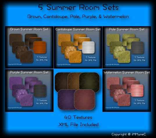 40 Summer Room Textures With Resell Rights