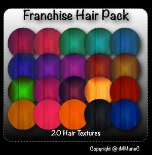 20 Franchise Hair Textures