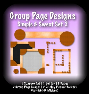 7 Piece Simple & Sweet Set 2 Group Page Design