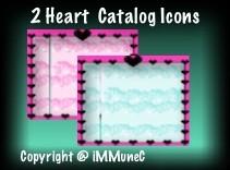 2 Heart Catalog Icons