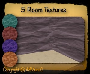 5 Waves Room Textures