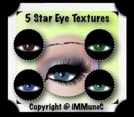 5 Star Eye Textures