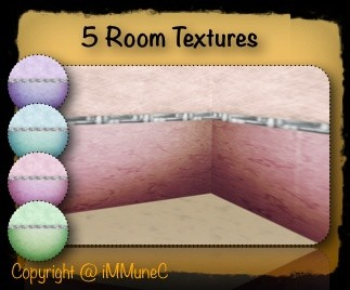 5 Style Room Textures