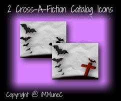2 Cross-A-Fiction Catalog Icons