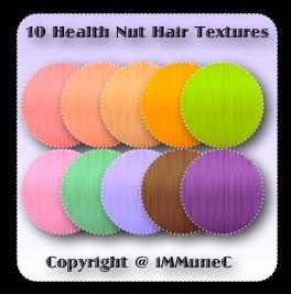 10 Health Nut Hair Textures