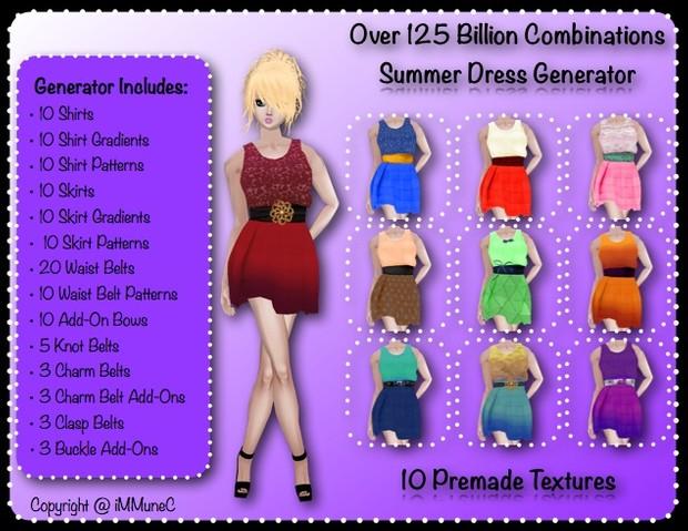 125+ Billion Summer Dress Generator