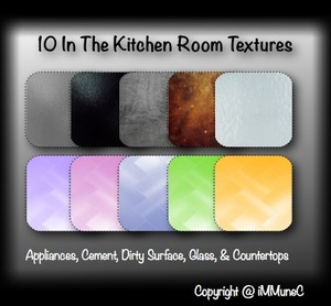 10 In The Kitchen Room Textures With Resell Rights