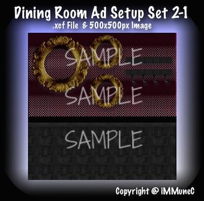 1 Dining Room Advertisement Set 2-1